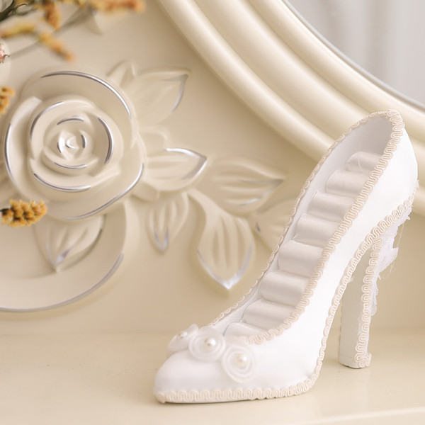 Jewelry Display Stand Holder Racks High Heels Shoes Tier Model Fantasy Jewelry Holder Wedding Shoe Display