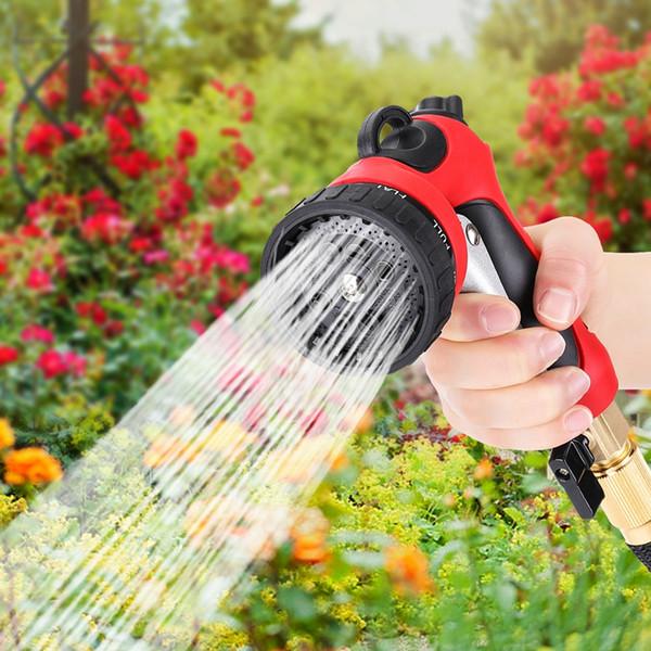 wholesale High Pressure Sprinkler Nozzle ABS Multi-functional Car Water Spray Hose Garden Water for Gun Vehicle washing Machine