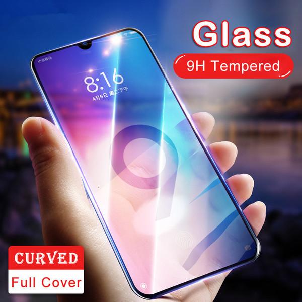 Mejor toldo de vidrio templado de protector de pantalla para Xiaomi cc9 cc9e 9t 9x9 8x8 Pro Lite 8SE película protectora A +++