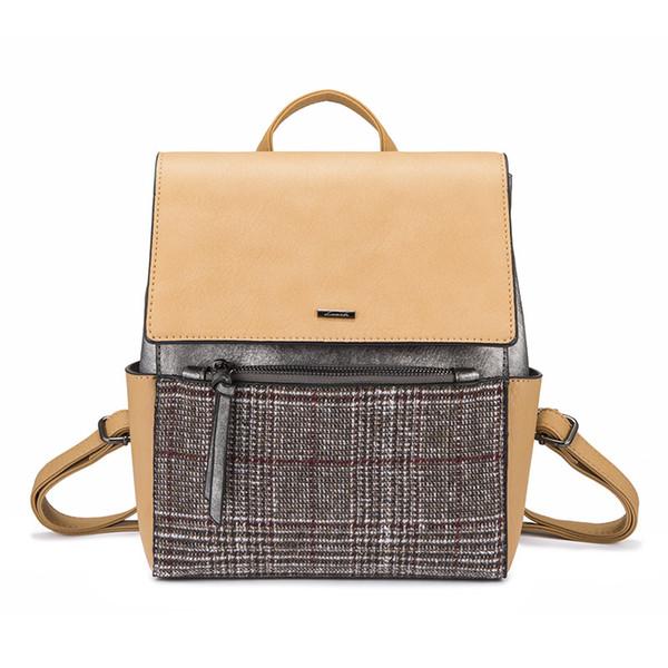 backpack women school bags for teenage girls mini bag for women 2018 female hand bag travel ladies backpack hairy purse