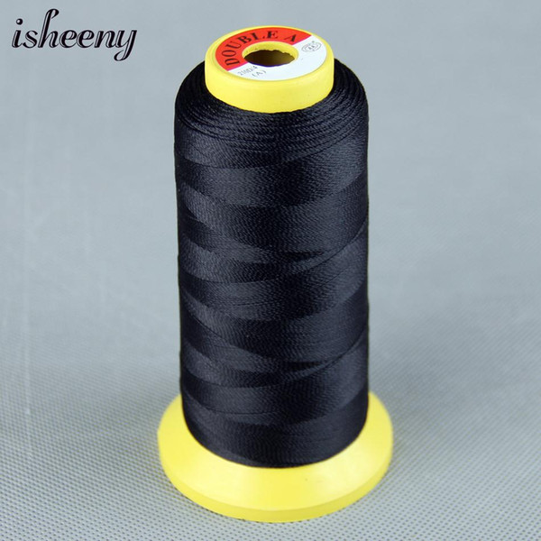 1 Roll Black Brown Blonde Nylon Hair Weaving Thread For Brazilian Human Hair Extensions Weaves Too/Salon Professional Accessorie