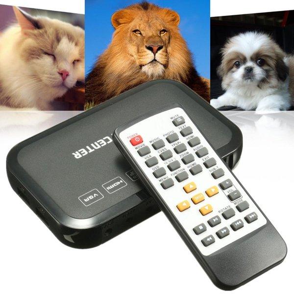 VGA 1080p Full HD HDMI Media Player HDD MKV SD USB TV AVI RM Wireless Romote Control Entertain Digital Videos Images