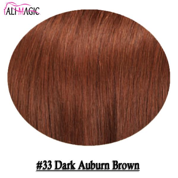 #33 Dark Auburn Brown