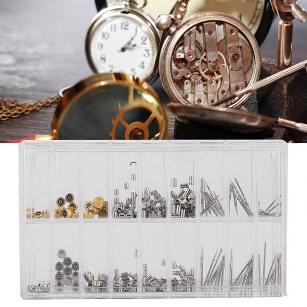 Profesional corona del reloj del tubo de vapor determinado del reloj de los relojes Reparación Partes de Accesorio Kit de herramientas de calidad para relojero reparador