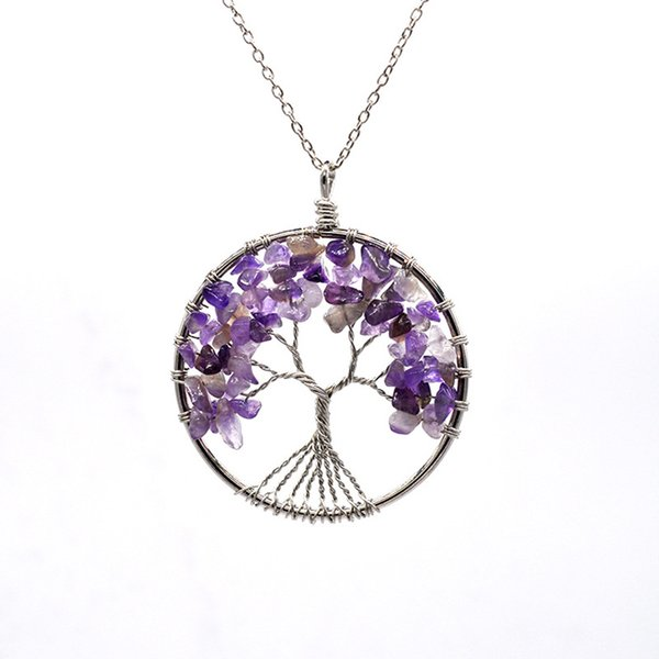 Tree of Life Pendant Necklace 13