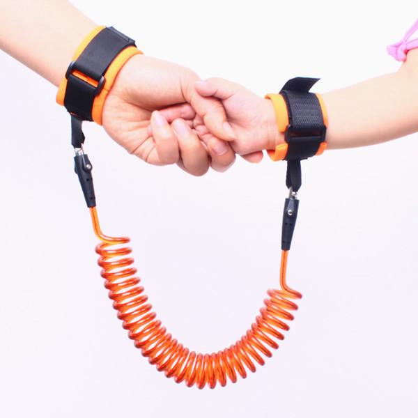 Prodotti per bambini Sicurezza bambini Accessori per bambini Anti perso Wrist Link Outdoor Walking Cintura a mano per Toddler 2019 Hot