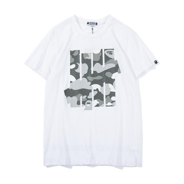 2019 primavera verano hombres Casual impresión de dibujos animados cuello redondo suelta manga corta camisetas hombres mujeres cuello redondo camisetas casuales