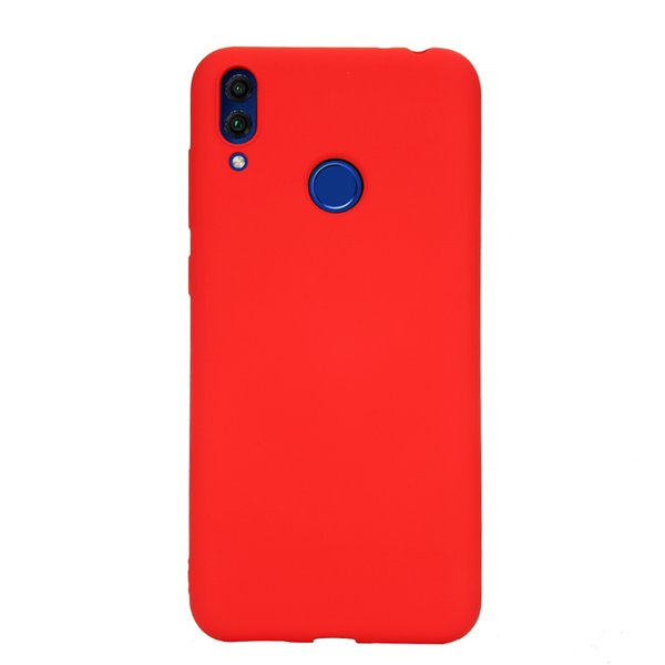 Liquid Silicone Case for Huawei Honor 8 Phone Case with Anti-Scratch Microfiber Lining Shell Full-Body Shockproof Protective Cover