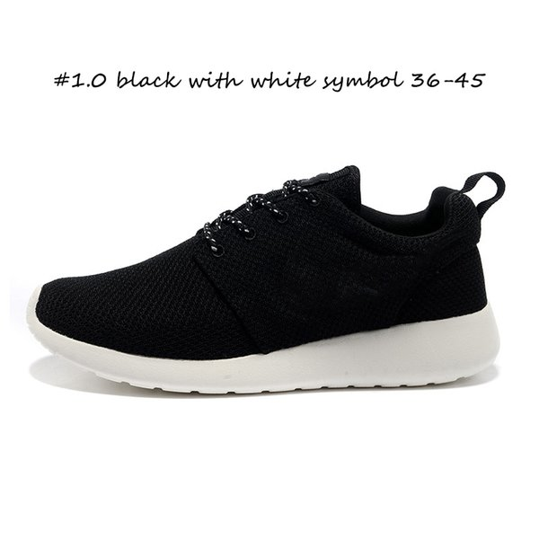 #1.0 black with white symbol 36-45