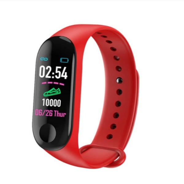 M3 smart bracelet Red