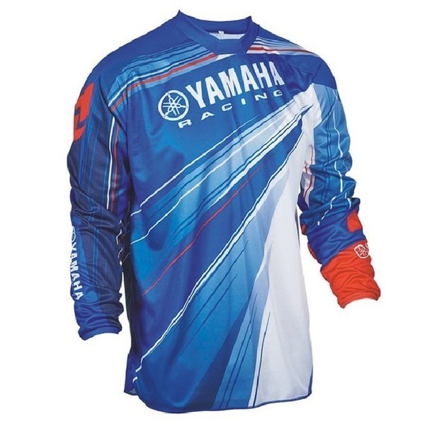 Wholesale Motocross Jersey Downhil Mountain Bike DH Shirt MX Motorcycle Clothing Ropa FIT For yamaha Men Quick Dry MTB Z