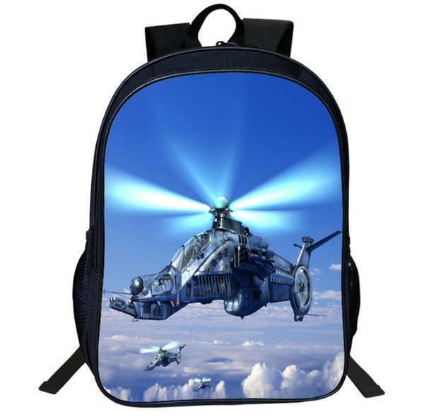 Cartoon fighter Printing Children Girls School Bags For Teenage Casual Daily laptop Backpacks V09