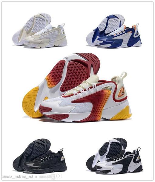 Acheter Date Zoom 2K Voile Blanc Noir Marine Orange Hommes Sports De Plein Air Chaussures 90 Style De Basketball M2k Tekno Modèle Mode Hommes Designer