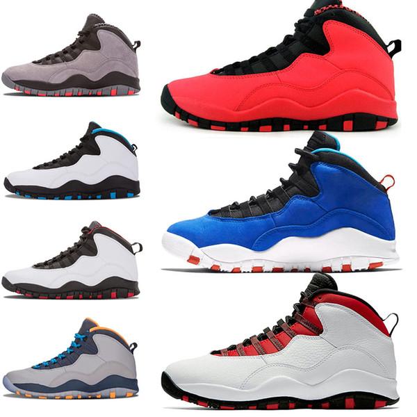 Zapatillas de baloncesto auténticas Tinker 10 10s GS Westbrook Men Estoy de vuelta Zapatillas de deporte clásicas de hombre negro clásico negro Moda Hombres Diseñador de lujo Zapatillas de deporte