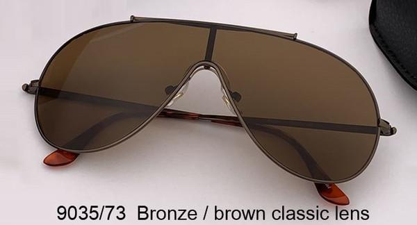 lentille classique bronze / marron