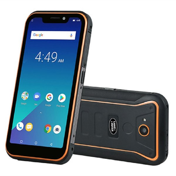 "5.5"" Notch Full Screen Land Rover X3 IP68 Waterproof 4G LTE 4GB 64GB Quad Core MTK6739 Android 8.1 Fingerprint Face ID GPS Rugged Smartphone"