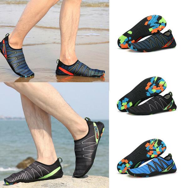 Zapatos de agua Zapatos de buceo de diseñador Pies descalzos Calcetines de Aqua de secado rápido Buceo Snorkel Zapatillas Surf Playa al aire libre Zapatos de baño Chaussures MMA1818