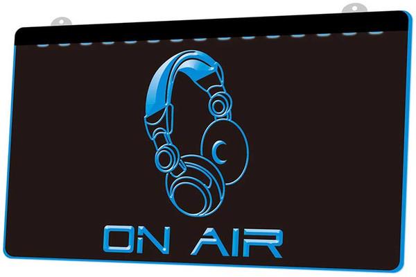 LS1055-b-On-Air-Headphone-Headset-Studio-Neon-Light-Sign.jpg Decoración envío gratis Dropshipping Wholesale 8 colores para elegir