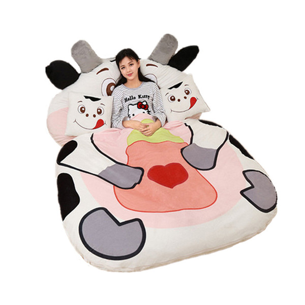 Giant Stuffed Animal Chinese Zodiac Sofa Bed Soft Plush Sleeping Bag Mat Dog Monkey Rabbit Tiger Dragon Cow 12 Models 2 Sizes DY61820