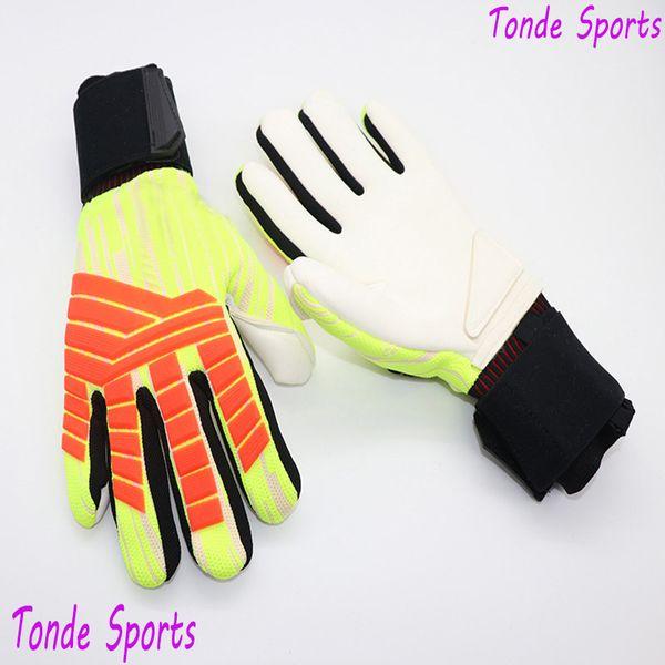 Professional Soccer Latex Goalkeeper Football Training Equipment Goalie Gloves