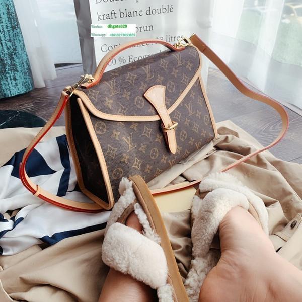 New Best ExplosionVintage fivela de ouro feminino saco motorista selvagem clássico antigo padrão de impressão de moda tendência de couro mensageiro saco