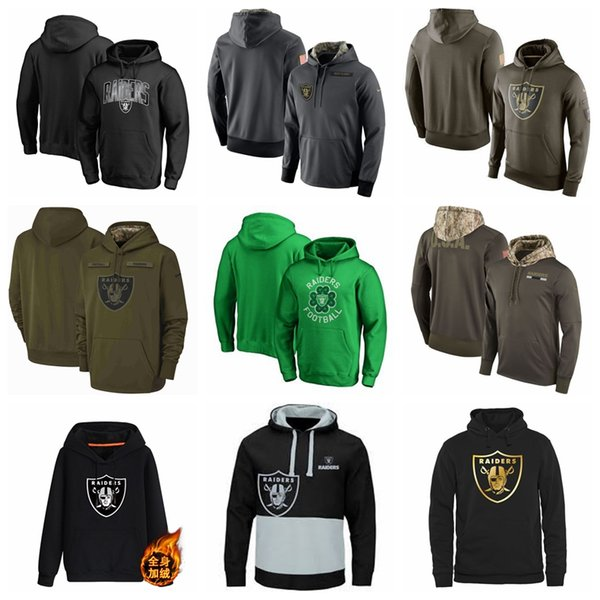 the best attitude 814e0 747dd 2019 Men'S Oakland Men Raiders Jersey Fashion Movement Olive Salute To  Service Pullover Football Hoodie 2018 2019 NEW From Mimifafa01, $30.46 | ...