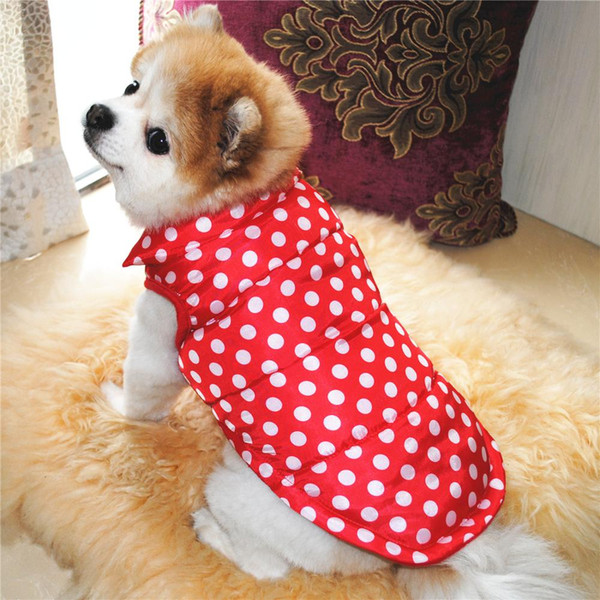 Winter Pet Clothing for Dog Clothes For Dogs Coat Jacket Puppy Pet Dog Costume Pet Vest Apparel Chihuahua Jacket Dogs Clothing