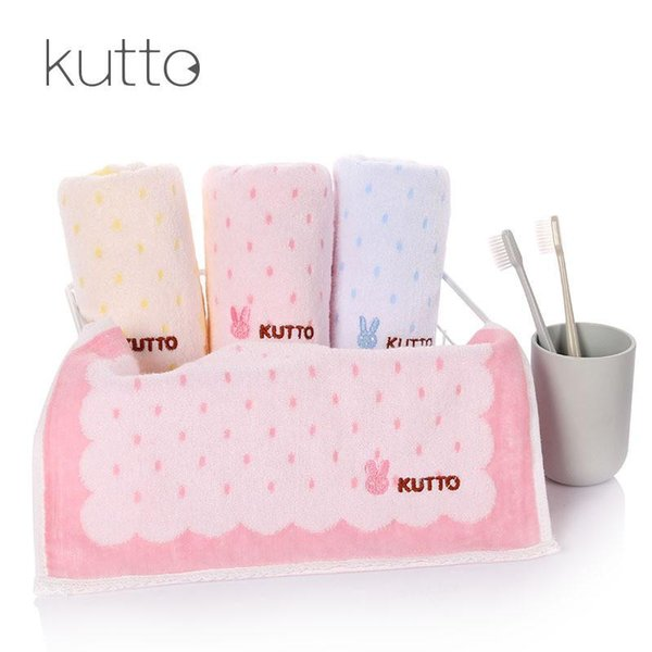 Cute Rabbit 1PC 100% Cotton Towel 34*75cm Quick-Dry Home Daily Using Health Skin care Towel Environmental protection