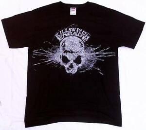 Resmi Killswitch Mal Ezilmiş Kafatası RoShort-Kollu Yıldız VIP T-Shirt meşgul.