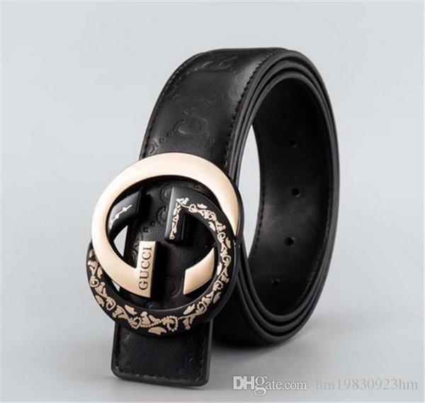 2018 designer belts luxury belts for men big buckle belt top fashion mens leather belts wholesale free shipping