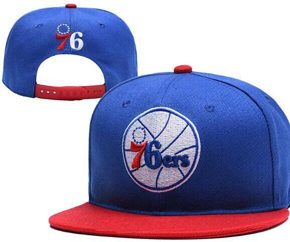 Philadelphia 76 kappen Hysteresenhut PHI Baseballmütze Hut mit flacher Krempe Team-Größen-Baseballmütze Klassische Art- und Weisekaskette geben Schiff frei 13