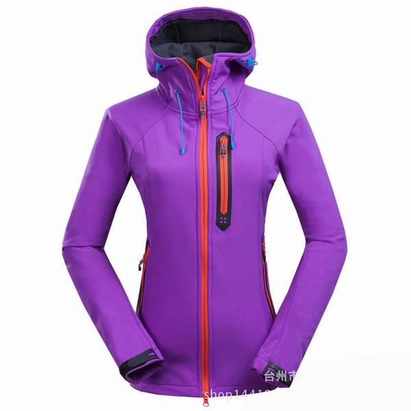Frauen Heißer Schweiß Jogging Laufen Radfahren Jacken Sport Tops Fitness Gym Mit Kapuze Kleidung Camping Skifahren Wandern Laufen Mantel