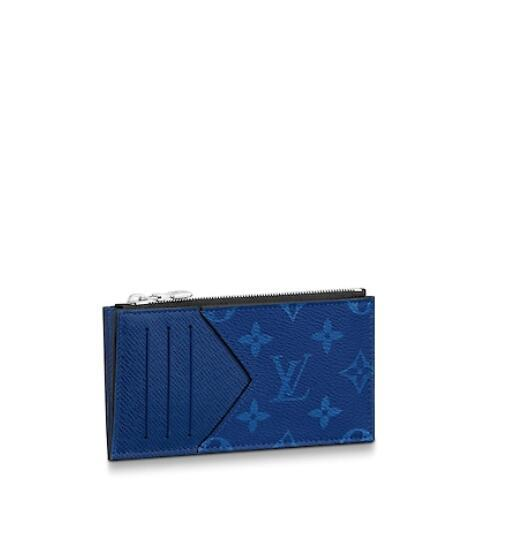 M30270 Coin Card Holder MEN REAL LEATHER LONG WALLET CHAIN WALLETS COMPACT PURSE CLUTCHES EVENING KEY CARD HOLDERS