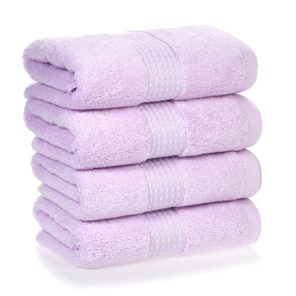4pcs/set Multi-Purpose Cotton Soft Fast Absorbant Washing Towel Cleaning Wiping Cloth Washcloths Hand Towels for Home Hotel Kitchen Bathroom