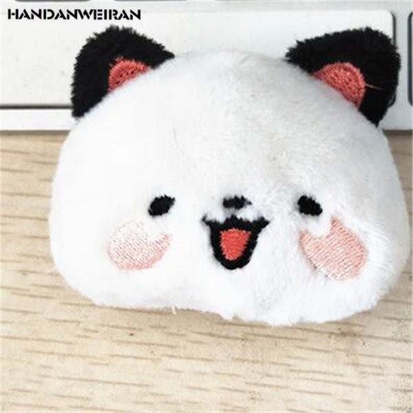 HANDANWEIRAN 1Pcs PP Cotton New Hot 5CM Cute Small Cats Plush Doll Toys Cartoon Stuffed Animals Toy Gifts DIY Accessories Dolls