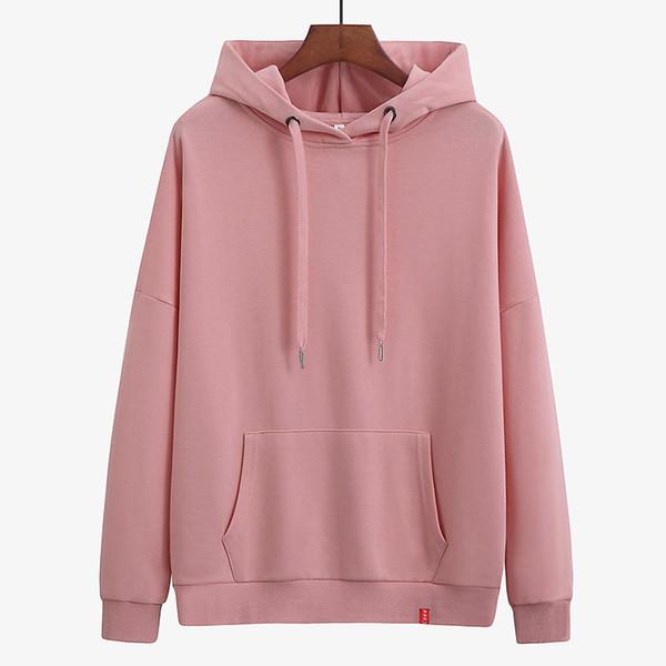 Girls Long Sleeve Casual Hooded Pink Oversized Hoodie Sweet Print Female Sweatshirt Women 3xl Ladies Pullovers Sportswear Tops