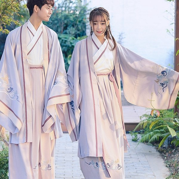 Long Robe with Only Big Sleeves