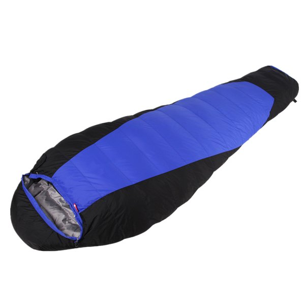 ultralight weight super warm sac de couchage duck down outdoor thickening camping sleeping bag for Autumn And Winter