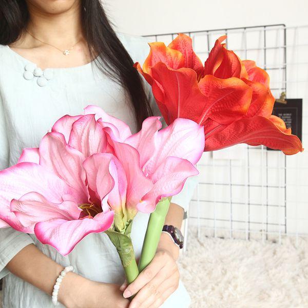 2 adet / grup yapay lotus ipek çiçek sahte şube ev dekorasyon düğün dekor arka plan duvar bahçe dekorasyon plastik sahte bitkiler