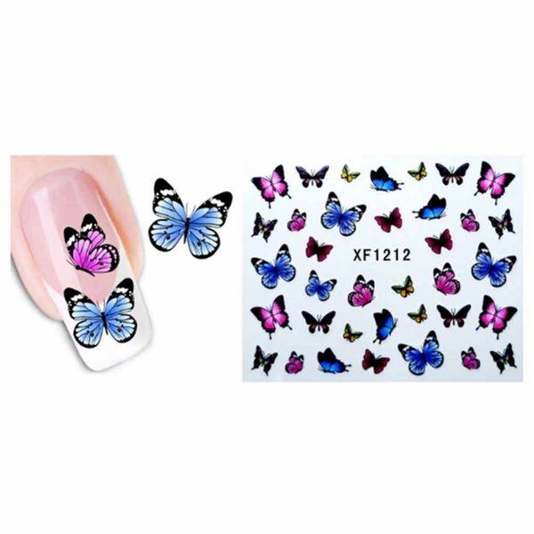 1 Sheet Cute Nail Art Water Transfers Stickers Sexy Black Cats Pattern Fingernail Decor Tips For Women Girls Hot