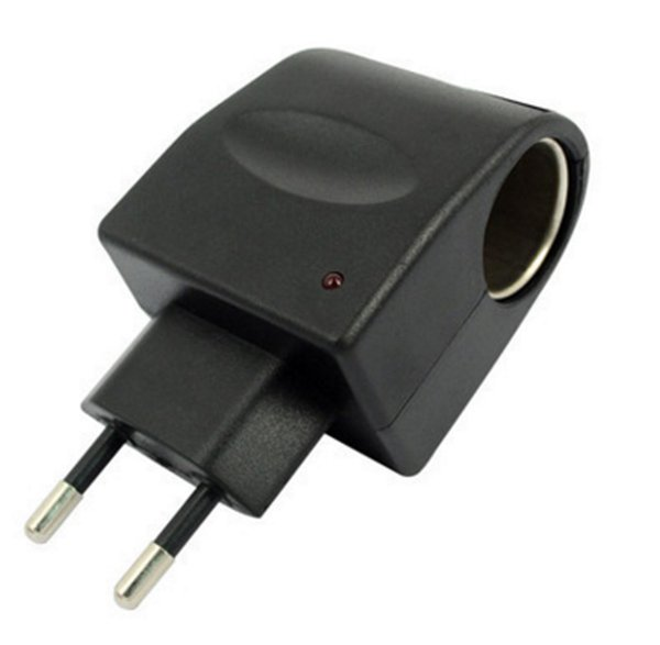 Adapter Home Wall Charger AC 90-240V To DC 12V Car Cigarette Lighter Socket Charger Switch Janu 9