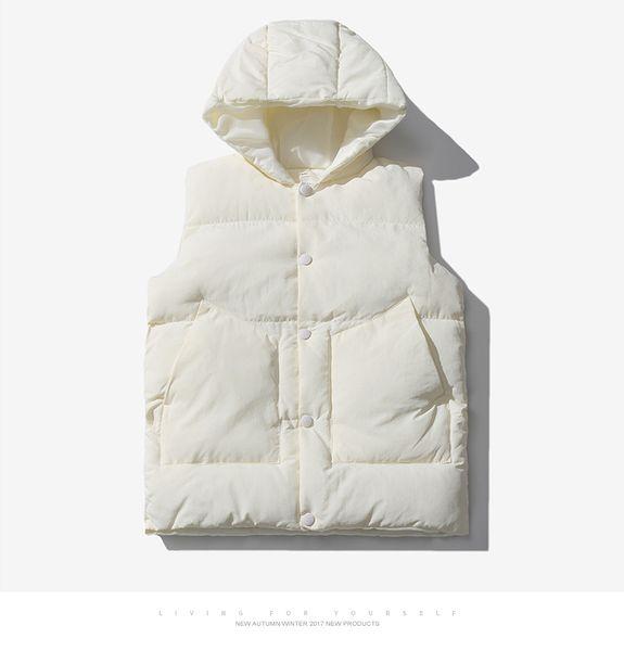 Kühle 2020 Neueste elegante beiläufige Breath Volltonfarbe Tops Fashion Frühling und Herbst kühlen Männer Frauen Jacke ärmellos Tops
