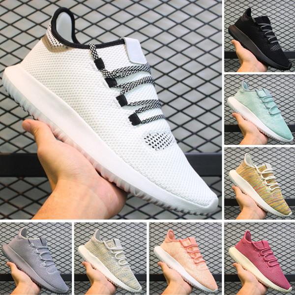 (с коробкой) высокое качество 2019 новых мужчин и женщин дизайнер трубчатая тень вязание кроссовки повседневная обувь erdf