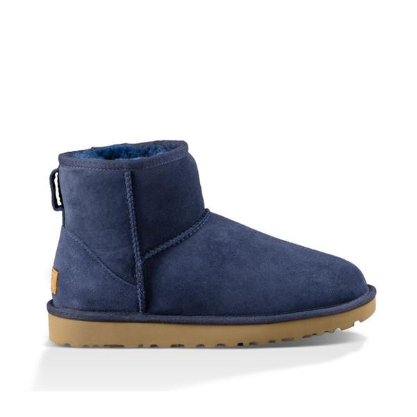 A23 Classic Mini Boot - Blue