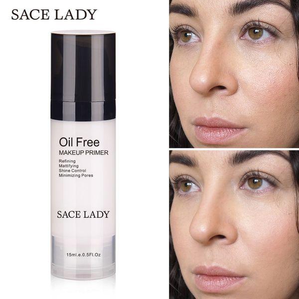 Sace Lady Face Makeup Primer Oil Free Professional Base Make Up Matte Foundation Primer15ml Brand Pores Moisturizer Cosmetic