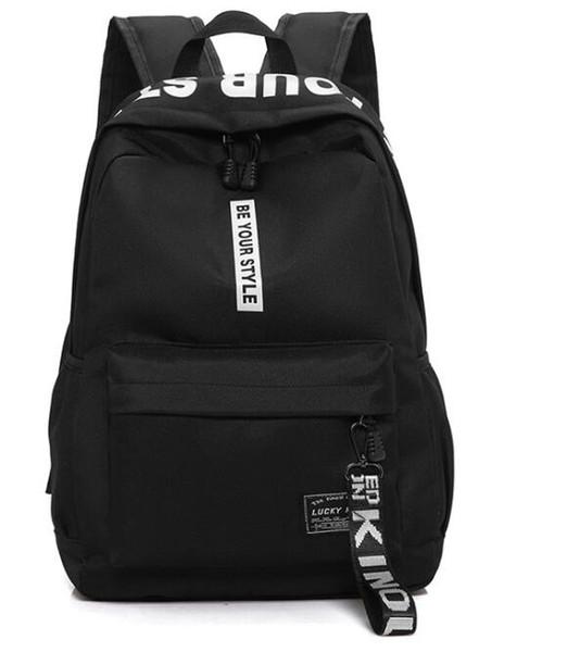 College Style Backpack Laptop Bags Large Capacity School for Women Men Boy Girl Preppy Style Shoulder bag