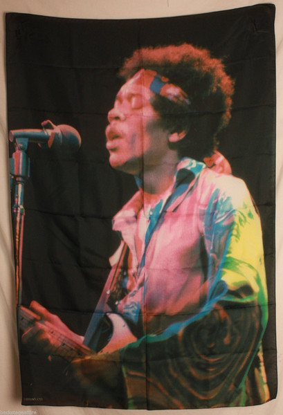 Jimi Hendrix Color Photo Cloth Art Silk Print Poster 24x36inch(60x90cm) 083