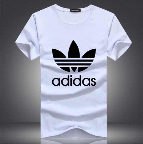 2019 Mode neue Trendmarke Herren Kurzarm-T-Shirt Dünger erhöhen