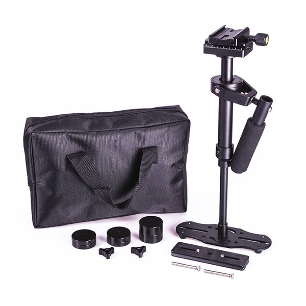 Freeshipping DSLR S40 5D2 Professional handheld Camera stabilizer rig DSLR mini camcorder steadicam Smartphone video steadycam glidecam