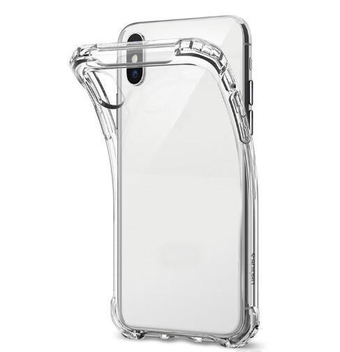 Funda de TPU transparente a prueba de golpes de 1 mm para Samsung Galaxy S9 S8 Plus S6 S7 Edge A30 A40 A60 A70 A10 A10 M10 M20 M30 A6 A8 Cubierta de piel transparente suave